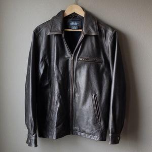 Mens Cherokee Leather Jacket